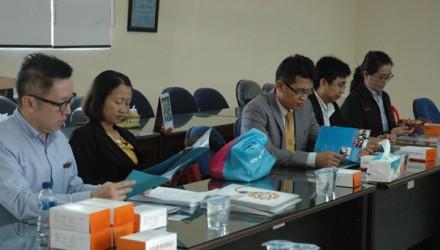 Kunjungan Universitas Suranaree Thailand