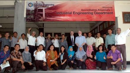 Visitasi ABET – Jurusan Teknik Industri ITS
