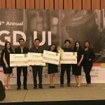 Mahasiswa DTI-ITS Ukir Prestasi di Event PGDUI ke-14