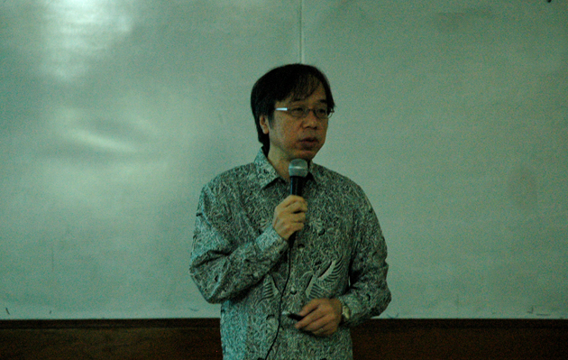 Kuliah Tamu : Prof. Takahashi